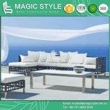 Modern Home Sofa Set Patio Rattan Sofa Set Outdoor Wicker Sofa (Magic Style)