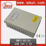 24V 2.5A 60W IP40 Rainproof Switching Power Supply for Outdoor