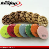 3 Inch D80mm Concrete Dry Polishing Pad