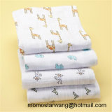 100% Cotton Baby Muslin Swaddle Blanket Set with High Quality