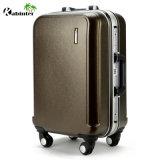 China Manufactory Aluminum Cover Trolley Luggage Travel Bag Hardcases