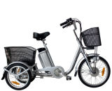 36V 250W Electric Tricycle with Rear Basket