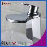 Fyeer Big Spout Bathroom Waterfall Basin Mixer Tap (Q3005)