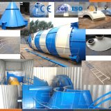 Bulk Cement Tanker Used on Concrete Batching Plant