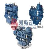 Cw200 Series Weichai Marine Engine Power at 480kw~1760kw