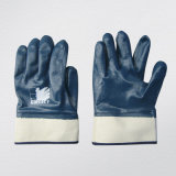 Blue Nitrile Fully Coated Interlock Liner Glove (5001)