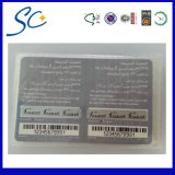 off-Set Printed PVC Card with Barcode