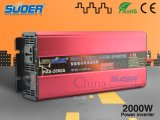 Suoer Hot Sale Solar Inverter 2000W Solar Inverter 12V to 220V (HAA-2000A)
