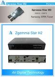 Zgemma-Star H2 LNB Satellite Receiver DVB-T2/C Hybrid Tuner Samsung 109A Tuner for Russia