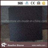 Fuding Black G684 Anti-Slip Granite Tile with Leather Surface