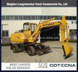 CE Approved High Quality Wheel Excavator