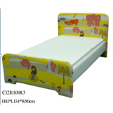 Living Room Furniture Durable Wooden Kid′s Bed (BF-101)
