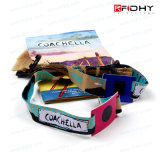 Fashion Style RFID Fabric Bracelet Wristband for Festival/Amusement