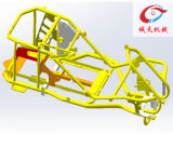 Power Tool Frame ATV Parts with Powder Coating