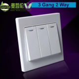 3 Gang 2 Way Wall Switch Panel, Light Switch