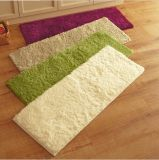 Custom Plush Shaggy Polyester Plush Floor Mats