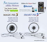 26′′ Magic Pie5 Ebike Kit with Bluetooth Programmbale, Available for Available for for Android/Ios