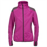 2015 Womens Athletic Fit Sports Softshell Jacket