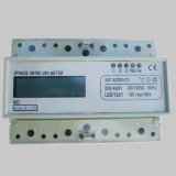 Mini DIN-Rail Type Energy Meter with RS485 Communication