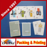 Paper Material and Advertising Poker Type Playing Card (430028)