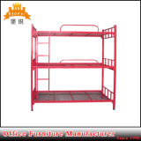 Low Price Knock Down Steel Triple Bunk Bed