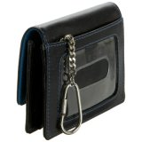 OEM Fashionable Black Leather Business Card Case