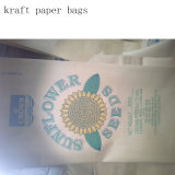 Paper-Plastic Compound Bags Kraft Paper Bags Factory Direct Sale Made in China