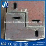 Steel Based Plate for Steel Construction with Hole