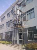 Guide Rail Hydraulic Elevator Platform for Goods Handling