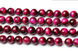 Semi Precious Stone Red Tiger Eye Crystal Bead
