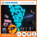 HD Resolution P3.9mm Flexible LED Curtain Display