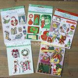 Customize 3D Dimensional Scrapbook Handmade Paper Stickers Christmas 3D Stickers