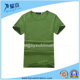 Green Modal Tshirt with Round Neck for Man