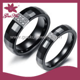 Unique Custom Sweet Couple Ceramic Rings (2015 Gus-Cmr-026)