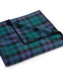 Woven Pure Virgin Merino Wool Blanket