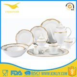 China Quality Assurance Wavy Dinner Set Ceramic Bone Dinnerware