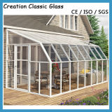 Clear Toughened/Tempered Safety Glass for Glass Door/Window Glass