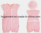 Newborn Short Sleeve Romper for Baby, Cotton Bodysuit
