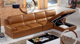 Thailand Sectional Leather Sofa (6013lp)