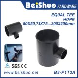HDPE Water Pipe Three Way Equal Tee Adapter Connector Fittings