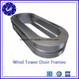 Ring Forging Steel Door Frame for Wind Tower D Ring Wind Power Gear