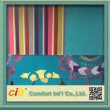 Fashion Flower Strip Plain Printing Fabric for Sofa