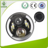 """Round 7"""" LED Headlight High/Low for Jeep"""