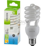 Super-Compact T4 25W, 30W Half Spiral CFL Light
