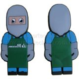 Silicone Workman Shaped USB Flash Drive (S1A-6016C)