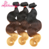 Ombre Color Human Hair Malaysian Virgin Hair Body Wave