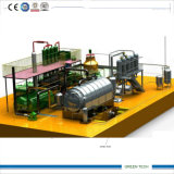 Waste Tire Recycling to Diesel Oil Pyrolysis and Distillation Equipment