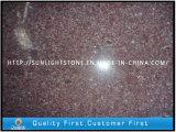 China Natural Red Porphyry granite Stone Paving Slab for Tiles