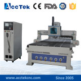 CNC Wood Cutting and Carving Machine, Automatic Tools Changer 3D