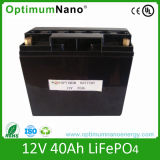 12V 20ah Deep Cycle Lithium Battery for Backup Power